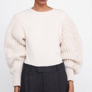 NWT Zara Knit Long Sleeve S